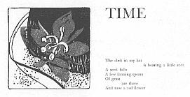 'Time' illustration by June Hildebrand